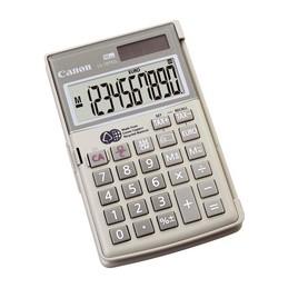 Canon, Calculatrice LS-10 TEG, Alimentation solaire ou Pile