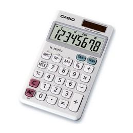 Casio, Calculatrice SL-305 ECO, Solaire ou Pile, 8 chiffres