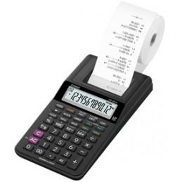 Casio, Calculatrice imprimante, Modèle HR-8 RCE-BK, Noir, 878
