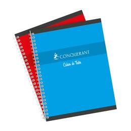 Conquerant sept, Cahier de textes, Reliure intégrale, 170 x 220 mm, Séyès, 124 pages, 100105369