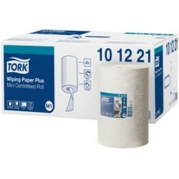 Tork, Rouleau, Papier d'essuyage, 2 plis, 74,9 m, Fort, Blanc, 101221