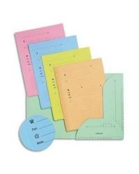 Elba paquet 25 sous chemises HV ULTIMATE 2 rabats couleurs pastels assorties 100090074