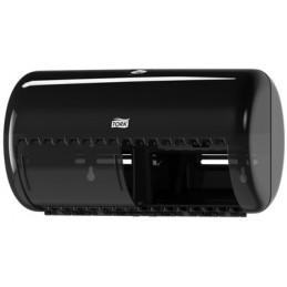 Tork, Distributeur, Papier toilette, Petits rouleaux, Noir, T4, 557008