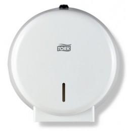 Tork, Distributeur, Papier toilette, Mini Jumbo, T2, Blanc, 247040