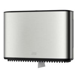 Tork, Distributeur, Papier toilette, Mini Jumbo, T2, Acier, 460006
