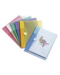 Tarifold sachet 6 pochettes enveloppes A5 VELCRO ASS 510259