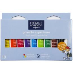 Lefranc & Bourgeois, Gouache, Tubes, 10 x 10ml, 3013648075627