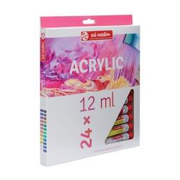 Royal Talens, Acrylique, ArtCreation, Expression,12ml , Set de 24, 9011724M
