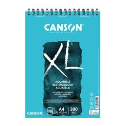 Canson, Bloc, Papier, Aquarelle, A5, 300G, XL, 20 feuilles, C400082843