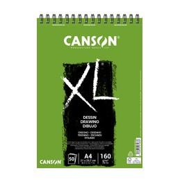 Canson, Bloc, Papier, Dessin, Blanc, A5, 160G, 30 feuilles, C400082841