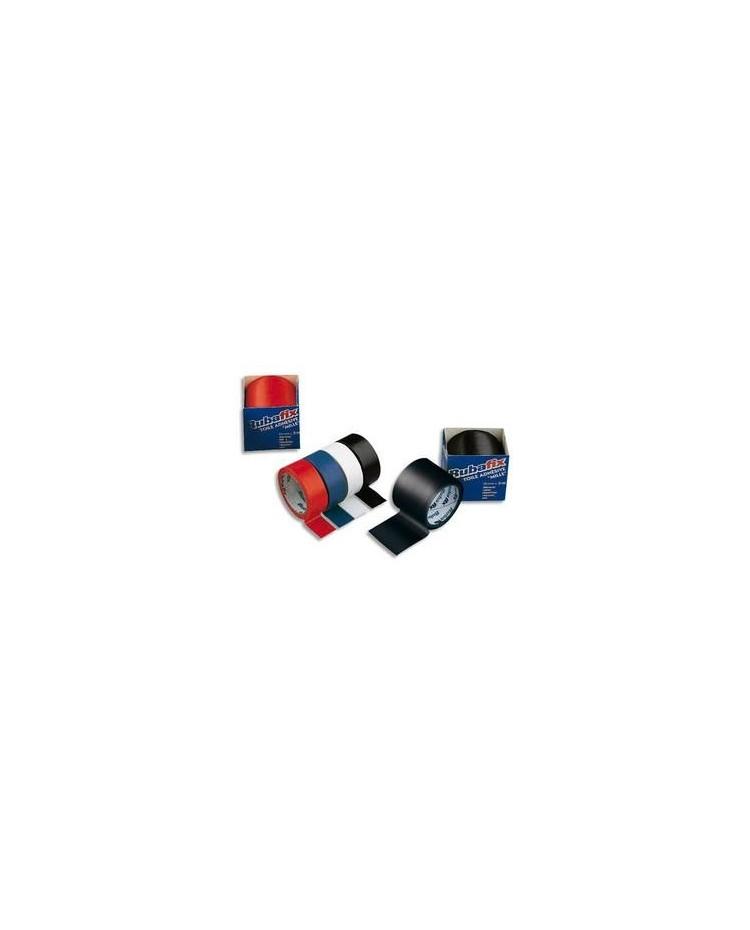 Rubafix Toile adhésive, Plastifiée, 19mm x 3m, Blanc, 570100