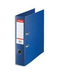 Esselte Classeur à levier, Standard, Dos 75mm, Bleu, 320210