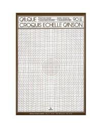 Canson bloc 50F papier calque croquis echelle A4 90G 200017143