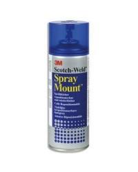 3M Scotch Colle en bombe de spray, Spray Mount, 400 ml, A1025