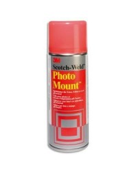 3M Scotch Colle en spray, Photo Mount, 400 ml A1023