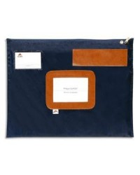 Alba pochette navette plate BLEU 42X32CM