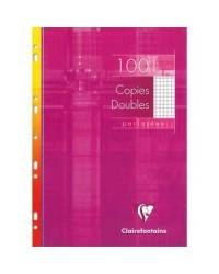 Clairefontaine étui 100 copies doubles A4 21X29.7 petits carreaix 5X5 4722C