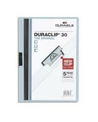 Durable chemise de présentation DURACLIP 30 BLEU CLAIR 2200-06
