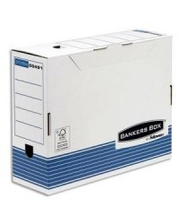 Bankers Box Boites a archives, 100mm, SYSTEM, Montage automatique, Fellowes, 1130902