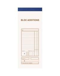 Exacompta Bloc Additions, 91x225mm, 50 Duplicata autocopiants, 13482E