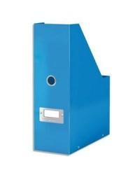 LEITZ Porte-revues Click & Store WOW, A4, carton, bleu, 60470036