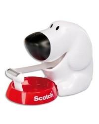 Scotch dévidoir chien +ruban adhésif BP819