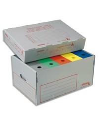 Extendos conteneur archives en polypro alvéolé ignifugé 12.65M1