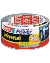 Tesa Ruban adhésif universel extra power gris, 50 mm x 25 m, 56388-12