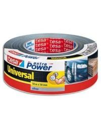 Tesa Ruban adhésif universel, Extra power, Argent gris, 50 mm x 50 m, 56389-11