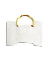 Agipa Attaches en toile gommée adhésives, 30mm, Paquet de 10, 101304