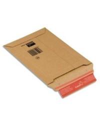 ColomPac Pochette d'expédition, en carton ondulé marron, A4+ 23.5X34, CP010.04