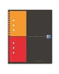 Oxford cahier NOTEBOOK A5+ 160 pages petits carreaux 5X5 100101849