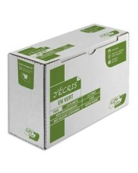 GPV 500 enveloppes blanches recyclées DL 110X220 ERAPURE 80G 2821
