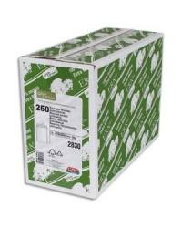 GPV boite 250 pochettes enveloppes blanches recyclées C4 229X324 90G 2830
