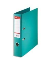 Esselte Classeur à levier, Standard, Dos 75mm, Bleu turquoise, 320340