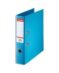 Esselte Classeur à levier, Standard, Dos 75mm, Bleu clair, 320380