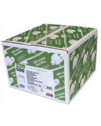 GPV boite 500 enveloppes blanches recyclées C5 162X229 80G 2825