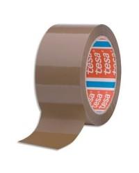 Tesa Ruban adhésif emballage, PP, 4280, 50 mm x 66 m, Havane, 43 Microns, 4280-40-00