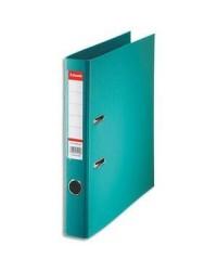 Esselte Classeur à levier, Standard, Dos 50mm, Bleu turquoise, 320940