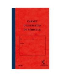 Elve Registre carnet d'entretien de véhicule, 32 pages, 28