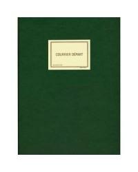 Elve Registre du courrier départ, Vert, 320x240mm, 150 pages, SP520