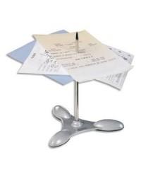 Maped Pique-notes lesté, socle et épingle en métal, argent, 537300