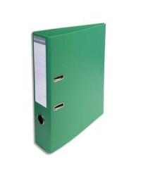 Exacompta Classeur à levier, Dos 70mm, PVC Premium, Vert, 53743E