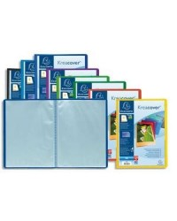 Exacompta protège documents 80 vues personnalisable KREACOVER couleurs assorties 5740E