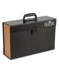 Bankers Box valisette trieur 19 compartiments NOIR 9352101