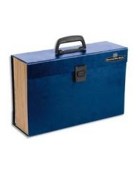 Bankers Box valisette trieur 19 compartiments BLEU 9352201