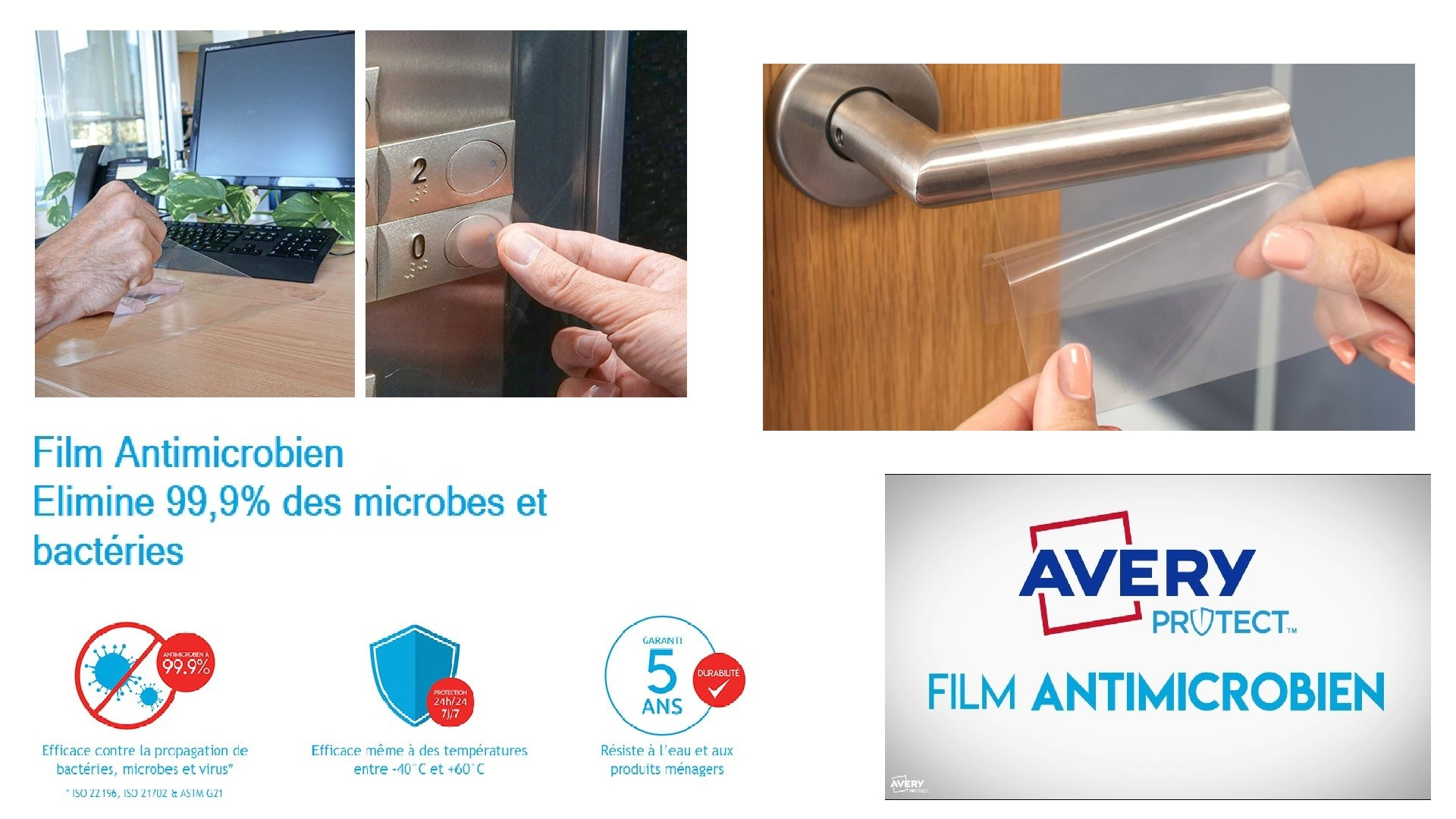 AVERY FILM ANTIMICROBIEN